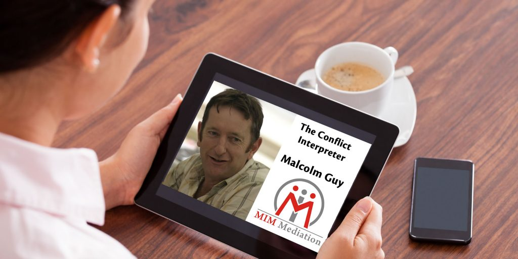 Webinar by Malcolm Guy from MIM Mediation