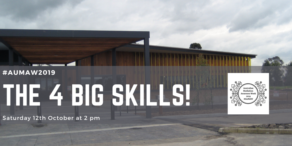The 4 Big Skills at Pakenham Library