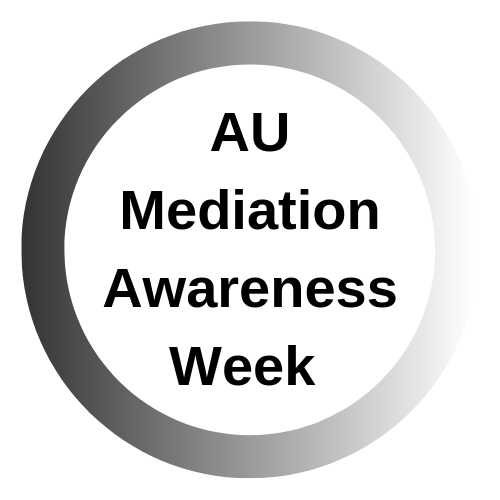 Au Mediation Awareness Week