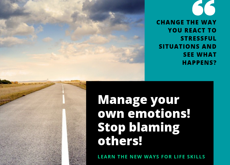 Change the way you react to stressful situations!