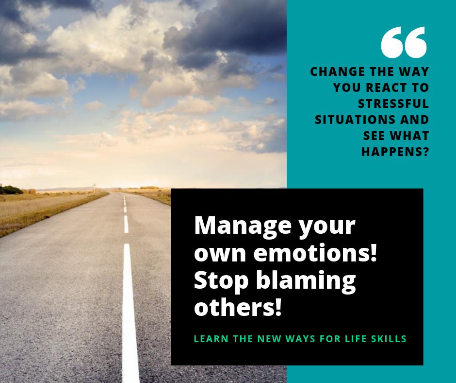 Change the way you react